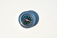 Compass on white. Royalty Free Stock Photos