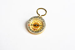 Compass on white. Stock Photography
