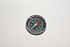 Compass on white. Stock Images