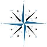 Compass wind rose. Illustration Stock Image