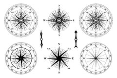 Compass wind rose. Stock Photography