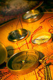 Compasses Royalty Free Stock Photography