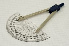 Compasses royalty free stock image