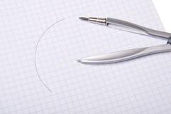compasses copybook Стоковые Изображения