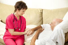 Compassionate Home Care Royalty Free Stock Photos