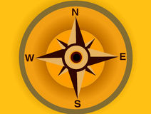 Compasso 03 ilustração stock