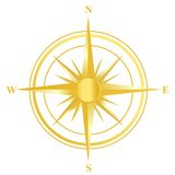 Compasso Foto de Stock Royalty Free