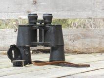 Compasso binocular imagens de stock