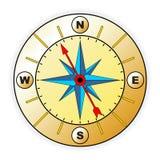Compasso com windrose Fotografia de Stock