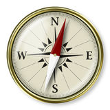 Compasso, conceito estratégico do plannig Fotos de Stock