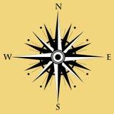 Compasso cor-de-rosa do vento Ilustração do vetor Fotos de Stock