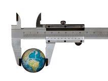 Compasso de calibre Imagem de Stock
