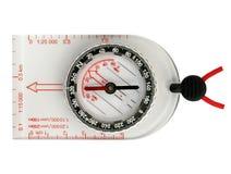 Compasso de Orienteering Foto de Stock Royalty Free