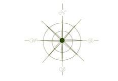 Compasso de Rosa de vento Fotografia de Stock Royalty Free