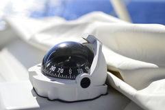 Compasso do barco Fotos de Stock