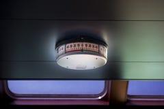 Compasso do navio no teto no petroleiro imagens de stock royalty free