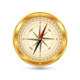 Compasso do ouro ilustração royalty free