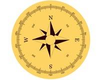 Compasso no fundo branco Imagem de Stock Royalty Free