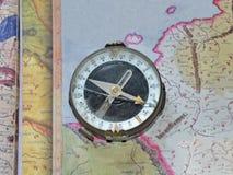 Compasso quebrado Fotografia de Stock Royalty Free