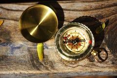 Compasso retro Foto de Stock