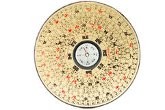 Compasso tradicional da bandeja de Luo Fotografia de Stock Royalty Free