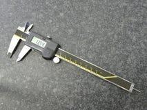 Compassos de calibre de Digitas fotografia de stock royalty free