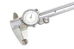 Compassos de calibre isolados Imagem de Stock