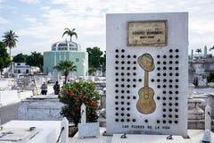 Compay Segundo tomb Royalty Free Stock Photography