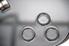 Compensadores hidráulicos para válvulas de motor diesel Imagem de Stock