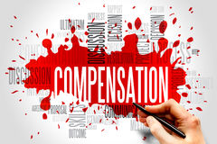 Compensation Stock Photo