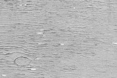 Compensato stagionato in bianco e nero Fotografia Stock Libera da Diritti
