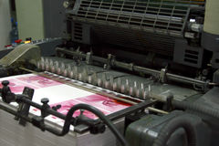 Compense la máquina Fotografía de archivo libre de regalías
