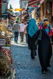 Comperando a Costantinopoli, la Turchia Immagine Stock