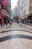 Comperando a Macao Fotografia Stock Libera da Diritti