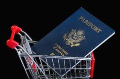 Comperando per l'America Fotografia Stock Libera da Diritti