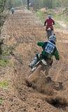 Compertitions do motocross. Imagem de Stock