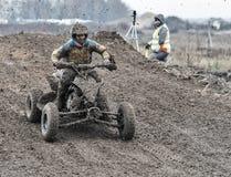 Compertitions do motocross Fotografia de Stock