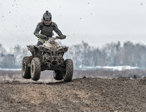 Compertitions do motocross Imagem de Stock Royalty Free