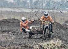 Compertitions do motocross Fotografia de Stock Royalty Free