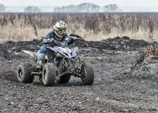 Compertitions do motocross Foto de Stock