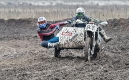 Compertitions do motocross Imagens de Stock Royalty Free