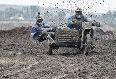 Compertitions do motocross Fotos de Stock Royalty Free