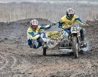Compertitions do motocross Imagens de Stock