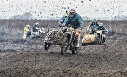 Compertitions do motocross Imagem de Stock