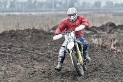 Compertitions do motocross Fotos de Stock