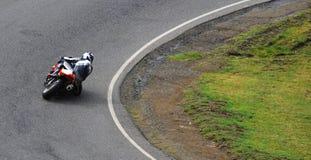 Competência da motocicleta Fotografia de Stock Royalty Free