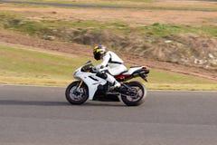 Competência da motocicleta Imagem de Stock Royalty Free