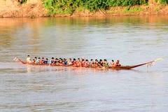 Competência de barco Fotos de Stock
