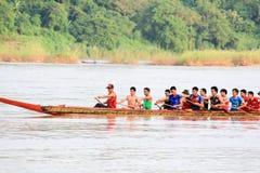 Competência de barco Foto de Stock