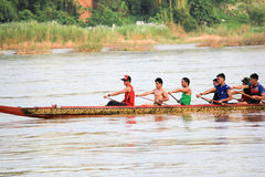 Competência de barco Foto de Stock Royalty Free
